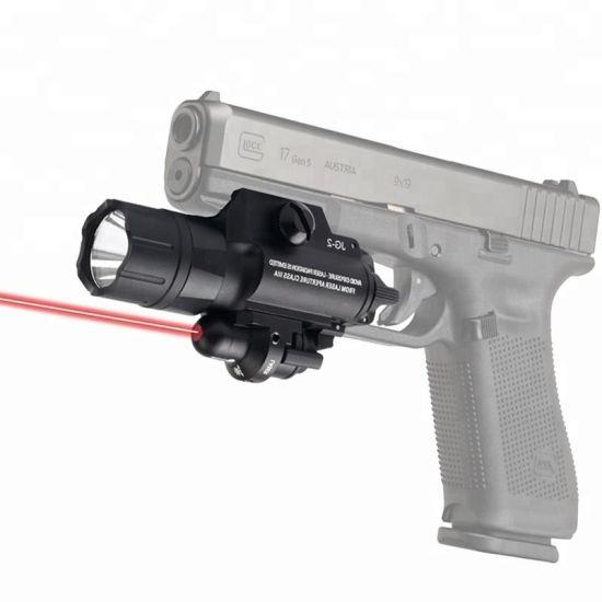 Hunting Tactical Integrated LED Gun Flashlight Green Red DOT Laser Sight for Glock Pistol