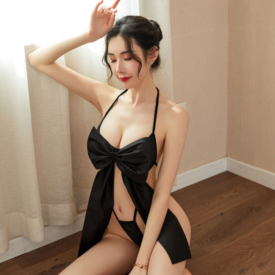 China New Japanese Sexy Underwear with Big Bow Tie and Three-Point Sexy  One-Piece - China Sexy Lingerie and Lingerie price