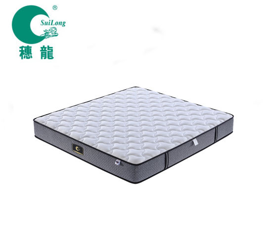 """10"""" Tight Top Simple and Classic Pocket Spring Bed in Box Mattress"""