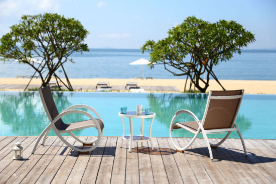 Outdoor Garden Dining Furniture with Creative Shape Frame