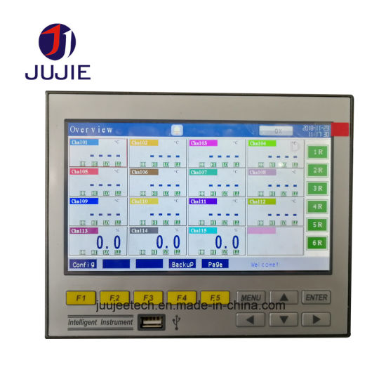China Temperature Chart Recorder for LED Industries with