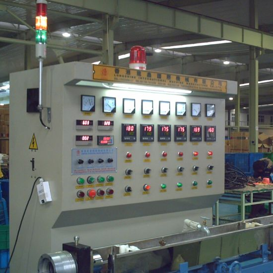 Plastic PVC Pipe Cable Tube Extruding/Extruder/Extrusion Making Machine