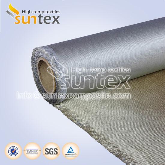 Fiberglass Cloth Roll PU Cloth for Welding 0.41mm Fire Retardant M0 Air Duct PU Coating Fiberglass Fabric