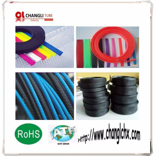 Expandable Cable Protective Abrasion Resistant Sleeve Pet Flexible Braided Sleeving pictures & photos