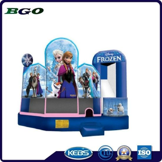 Frozen Jumping Bouncer PVC Tarapulin Inflatable Castle pictures & photos