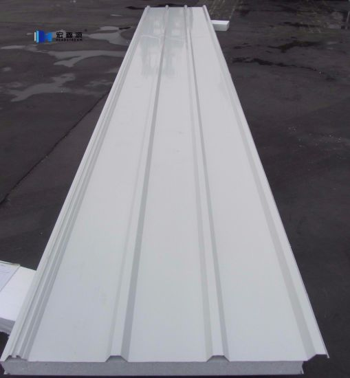 Australia Color Coated Corrugated EPS Roof Sandwich Panel pictures & photos