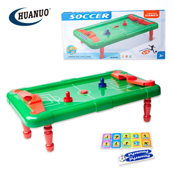 Kids Indoor Sport Toys Board Finger Soccer Table Football Game with Soccer Card pictures & photos