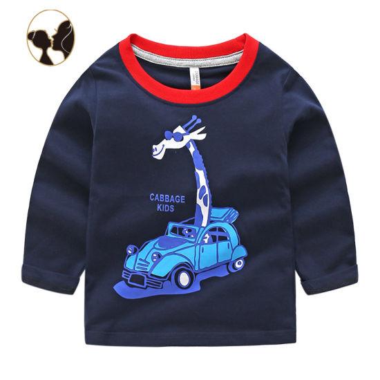 Private Label Children Wear Boy Child Cotton Tshirt