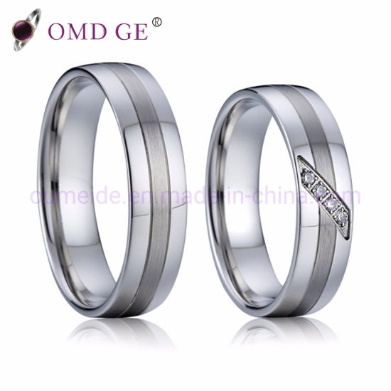 Luxury Silver Wedding Sterling 925 Ring for Set pictures & photos