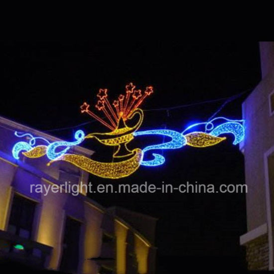 Outdoor Street Cross Decoration LED High Quality Christmas Ornaments pictures & photos