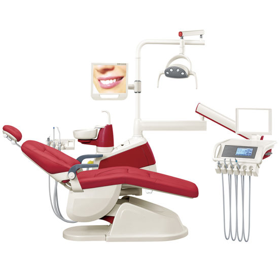Ce and FDA Approved Integral Dental Chair Unit, Dental Equipment, Portable Dental Unit Price (GD-S350) pictures & photos