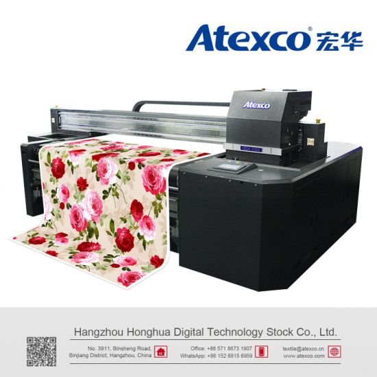 China Atexco Vega3180s Direct Digital Textile Printer with 8 Kyocera