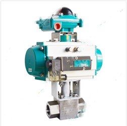 China Mnaufacturer& Supplier Pneumatic Internal Thread Ball Valve pictures & photos