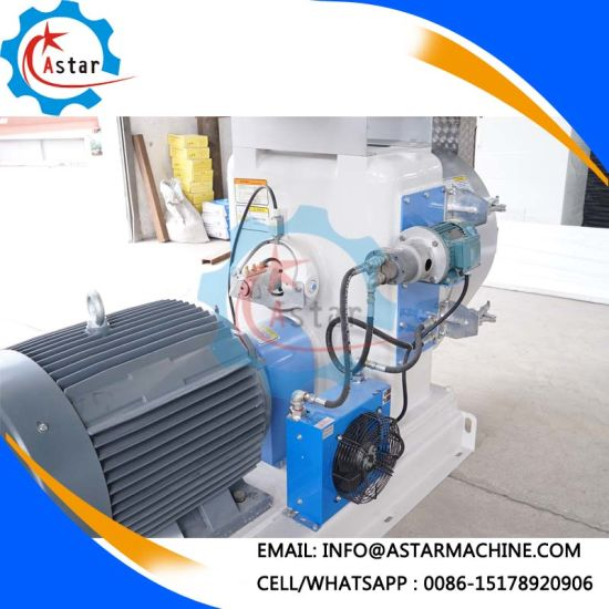 Gearbox with Gear Oil Cooling Machine Dairy Cow Feed Pellet Making Mill Machine pictures & photos