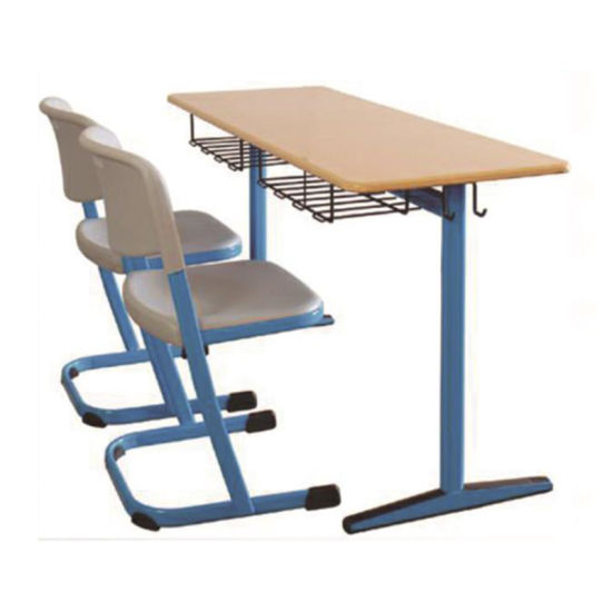 Modern Cheap Primary University Classroom Adjustable Ergonomic Student School Desk and Chair Set Furnture pictures & photos