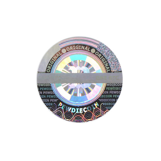 Serial Number Warranty Void Hologram Security Sticker Shipping Label