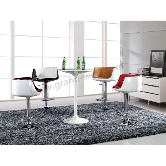 New Arrival Modern Kitchen Cup Shape Bar Stool with Back