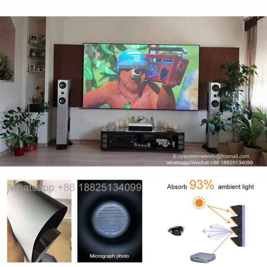 Xyscreen Pet Crystal Alr Ust Projector Projection Screen for Xiaomi 4K  Mijia Laser Projector