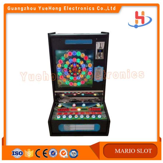 2019 Best Sale High Profits Metal Mario Jackpot Slot Machine for Sale