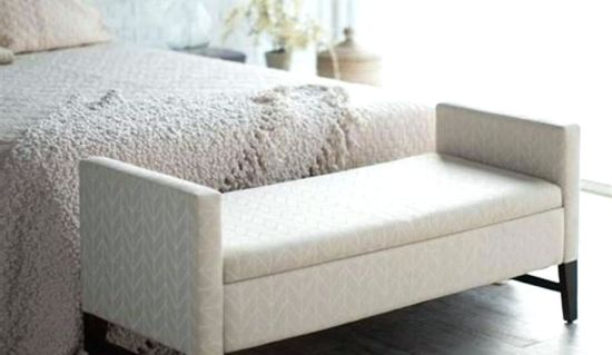 Hotel Furniture Wooden Storage Bench Seat Bedroom Benches Bed Stool