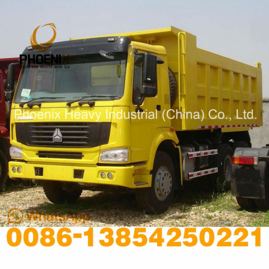 371HP Fairly Used Sinotruck HOWO Truck 6X4 Dump Truck 10 Wheels Tipper Truck for Africa