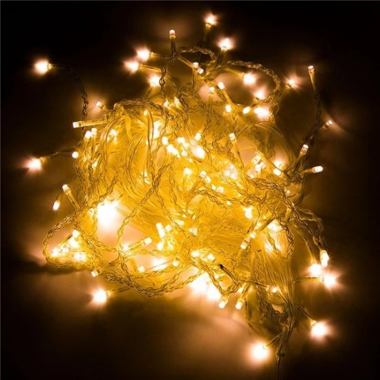 Stl 300 LED Home Outdoor Holiday Light Christmas Decorative Wedding Xmas String Light Fairy Curtain Garlands Strip Light