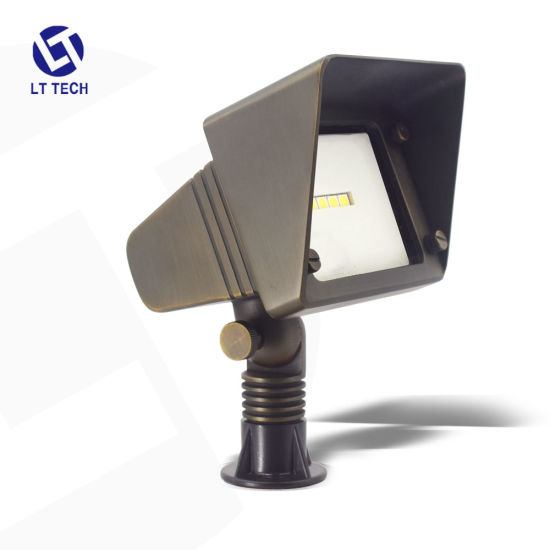 Die-Cast Brass Flood Lighting Fixture with CREE LED Chip