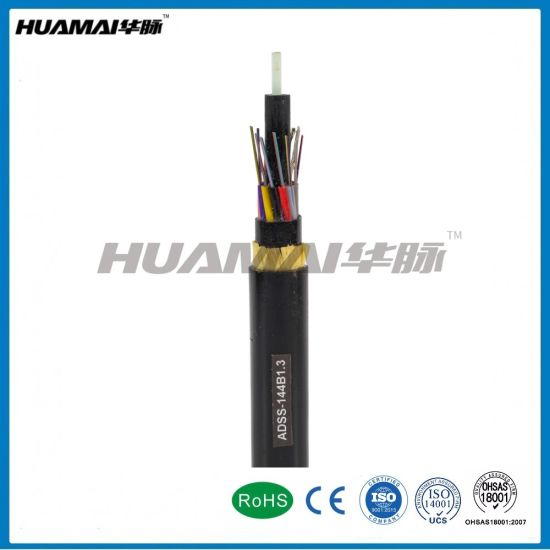 All Dielectric Self-Supporting Fiber Optic Cable ADSS Cable pictures & photos
