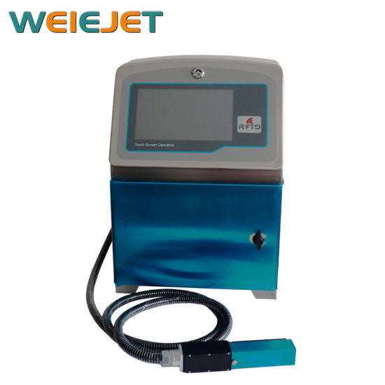 Cij Touch Screen Inkjet Printer for Food/Medical Product Day Printing/Battery