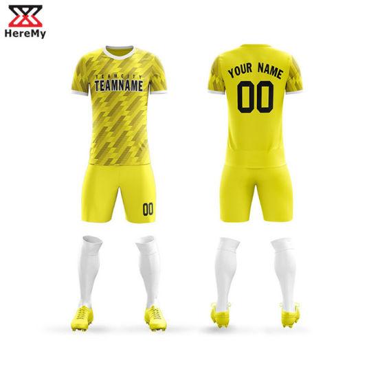 [Hot Item] Custom Jersey Store Football Shirt Maker Uniforms Soccer Jersey