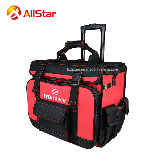 China Heavy Duty Electrician Tool Bag Trolley Rolling