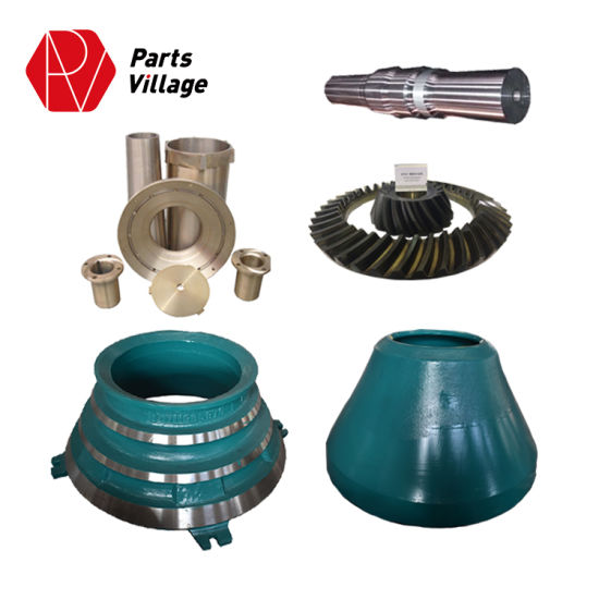 Cone Crusher Spare Parts High Manganese Mantle and Bowl Liner