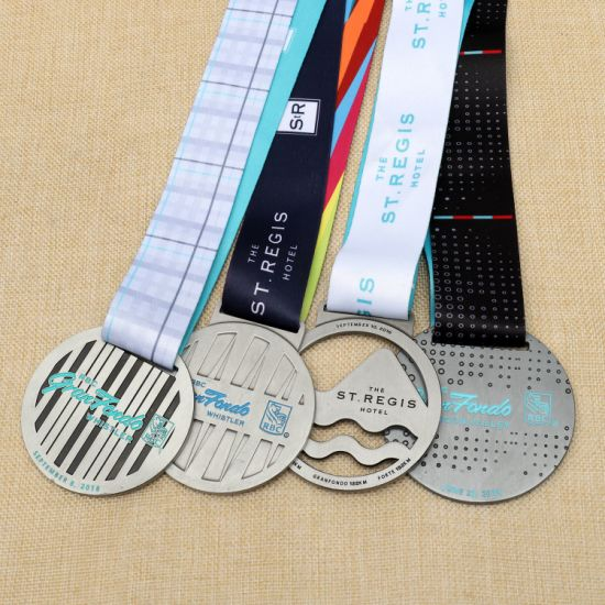 Customized Metal Run Sports Enamel Finisher Medals