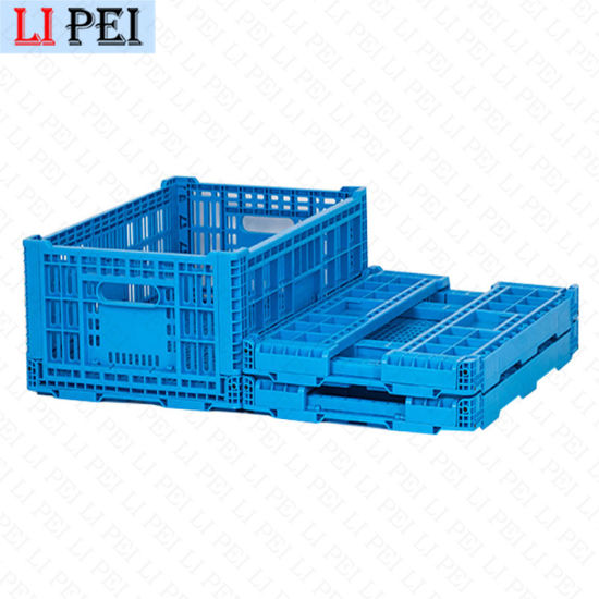 Manufacturers Sell New Products Directly Large Car Folding PP Plastic Shipping Storage Logistics Turnover Tool Boxes White
