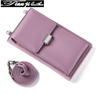 Factory Wholesale New Designer Mini PU Fashion Phone Bags/Women Wallet/Ladies Purse (J570)