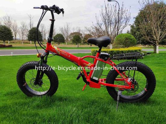 """New Design 20"""" Suspension Fork Flodable Folding Electric Bicycles"""