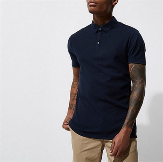 China Private Label embroidered 100 Cotton Polo Shirts with