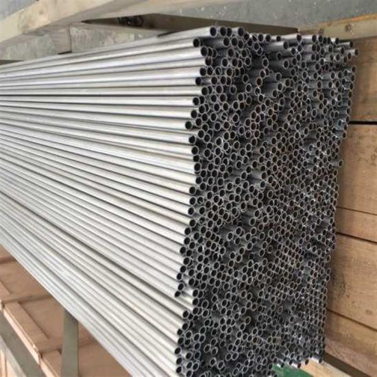 China Round Thin Aluminum Tubing for Evaporator / Condenser