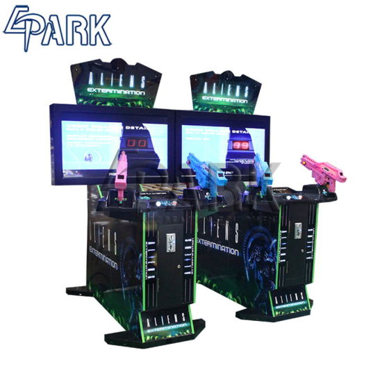[Hot Item] Epark New Arrival 42''inch Aliens Shooting Arcade Simulator Game  Machine