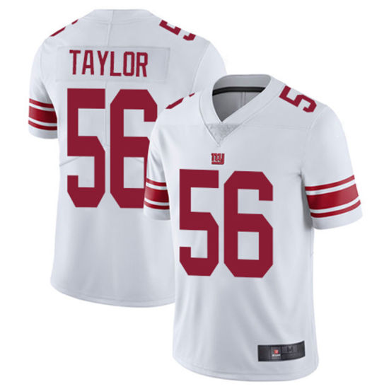 new arrival fdeaa f046c New York Landon Collins Lawrence Taylor Custom Any Player Football Jersey