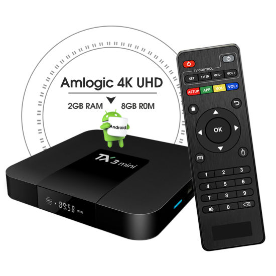 Factory Directly Supply Amlogic S905W Tx3 Mini Android Smart TV Box Android Box 4K WiFi TV Box