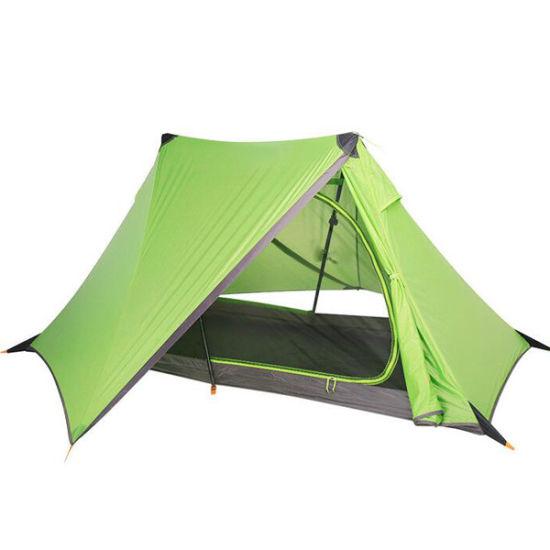 Ultralight Simple Personal Tent Portable Single Folding Pole Tent