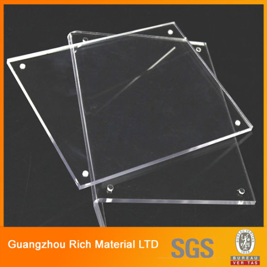 China Clear Acrylic Sheet Plastic Perspex Plexigless Sheet For Photo