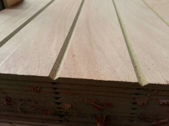 Factory-Groove MDF with Melamine 15mm and 18mm pictures & photos