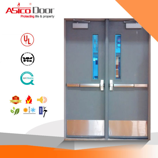 Asico Emergency Exit Steel Door with ASTM/Nfpa/UL10 (c) pictures & photos