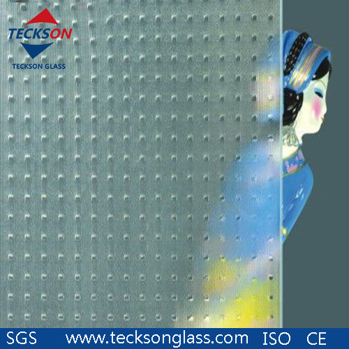 3-8mm Clear Millennium Patterned Figured Glass Factory in China