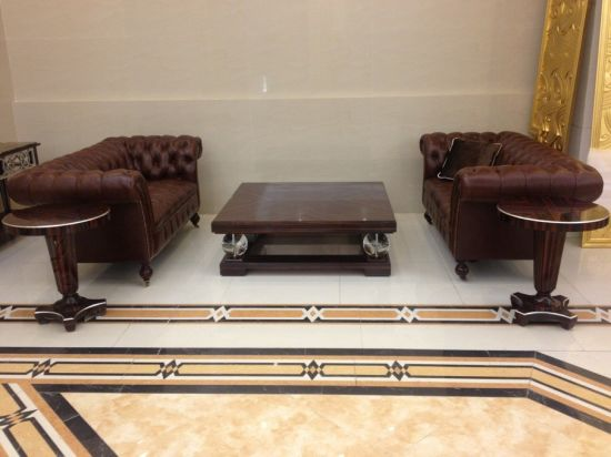 Hotel Living Room Sofa/Antique Sofa For Hotel/Hotel Lobby Sofa And Table  Furniture  (GLSTZT 01002)