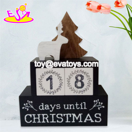 Best Promotional Toys Wooden Home Decorations for Christmas Gifts W09d029