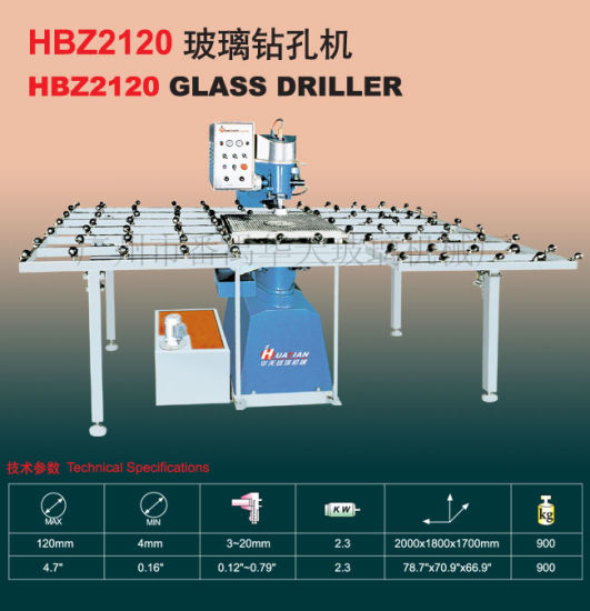 High Quality Glass Drilling Machine 8.10