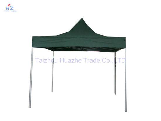 10ft X 10ft (3X3m) All Cross Folding Gazebo Folding Canopy Pop up Tent Easy up Gazebo  sc 1 st  Taizhou Huazhe Trade Co. Ltd. & China 10ft X 10ft (3X3m) All Cross Folding Gazebo Folding Canopy ...